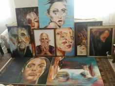 Draw, Oil, Portrait, Painting, To Draw, Men Portrait, Painting Art, Drawings, Paintings