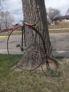 1880's Columbia Expert high wheel bicycle / Penny Farthing