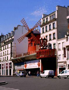 Paris France Attractions Moulin Rouge | Le Moulin Rouge - Paris (France)