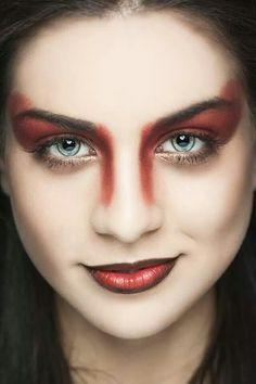Red bronze make-up
