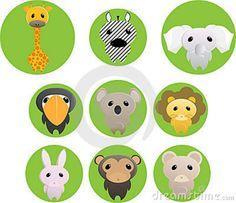 animales de la selva | Animales De La Selva Fotos de archivo libres de regalías - Imagen ...