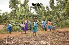Kitega school - Uganda.