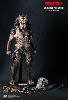 Hot Toys Hottoys Shadow Predator Predator 2 1 6 Scale Action Figure MMS154 | eBay