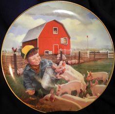 Donald Zolan (1937 – 2009, American)  Piglet Roundup