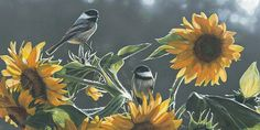 Wildlife paintings of terry isaac