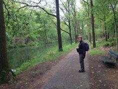 #hertogenpad kaart 40 langs kanaal van Deurne