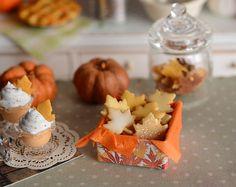 Miniature Maple Leaf Sugar Cookies by CuteinMiniature on Etsy