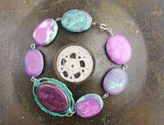 Purple and Turquiose Bracelet £10.00