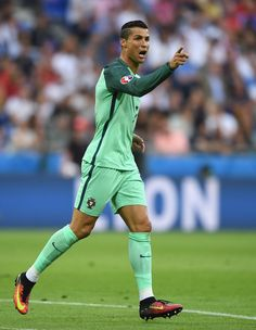 Cristiano Ronaldo is the first man to play three euros semifinals ever (2004, 2012, 2016)