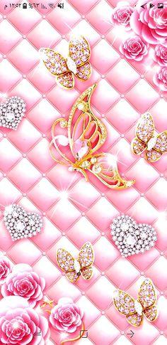 Pink Queen Wallpaper, Blue Glitter Wallpaper, Lace Wallpaper, Wallpaper Nature Flowers, Cute Galaxy Wallpaper, Diamond Wallpaper, Butterfly Wallpaper Iphone, Heart Wallpaper, Glamour Wallpaper