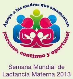 Este año el lema de la Semana Mundial de la Lactancia Materna va dirigido a todos los que nos dedicamos a apoyar a las madres lactantes, por eso FELICIDADES a todas las asesoras, profesionales de la salud, IBCLC y cualquier persona que acompañe a las familias que se encuentran en este momento de su vida!!!!!!