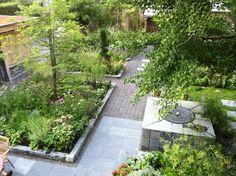 tuin in de stad