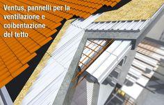 Ventus, pannelli per la ventilazione e coibentazione del tetto
