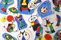 I thought of a way to create a three-dimensional structure with the characteristic drawings by Joan Miro, which are specifically two-dime...