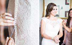 www.ostaraphotography.com, ©Ostara Photography, San Juan Capistrano, The Villa in San Juan Capistrano, Spanish Style Wedding, Lace Dress, button up dress, bridesmaids