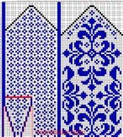 Knitting Machine Socks Wool Ideas – Awesome Knitting Ideas and Newest Knitting Models Crochet Mittens Free Pattern, Fair Isle Knitting Patterns, Knit Mittens, Knitting Charts, Knitted Gloves, Knitting Socks, Knitting Designs, Knitting Stitches, Hand Knitting