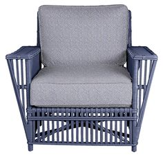 Stella Wicker Arm Chair Maine Cottage Wickerfurniture Porch Furniture Rustic Little