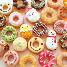 #ドーナツ デザインをパクってるので商品ではないのです #ミニチュア#ミニチュアフード#ハンドメイド #miniature #donatsu