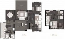 Plano de casa modern