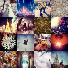 Así dimos la bienvenida al 2014, con un collage de los mejores momentos del año.
