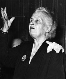Maria Montessori. 1870-1952
