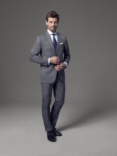 anthrazitfarbener anzug auf pinterest graue anz ge. Black Bedroom Furniture Sets. Home Design Ideas