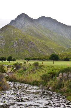 Kleinmond Golf Club, in South Africa, is our beautiful #GolfCourseOfTheDay! | Rock Bottom Golf #RockBottomGolf