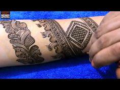 Mehndi Wolf Tattoo : Step by latest full hand mehndi design for
