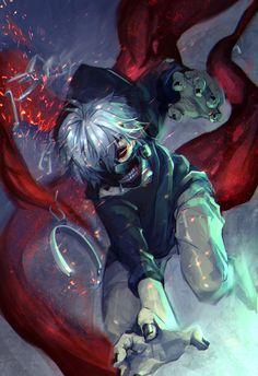 Tokyo Ghoul - Break Free, Kaneki by lucidsky on deviantART