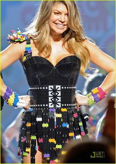 Lego dress....to go with the shoes