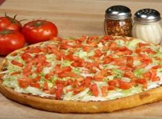 BLT Pizza...similar to an old favorite