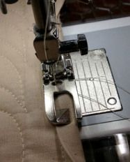 BINDING TUTORIAL  ---   I really NEED the flat felling foot for my machine!!!