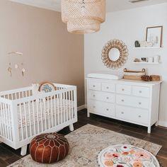 Baby Nursery Decor, Baby Decor, Nursery Room, Beige Nursery, Nursery Area Rug, Girl Nursery, Baby Room Design, Nursery Design, Girl Room