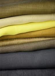 Textiele grondstoffen- Natuurlijke vezels: wol, katoen, vlas, kunstvezels: Nylon, rayon, acetaat.