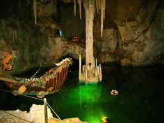 The Grotto in Mad King Ludwigs home in Fussen, Germany