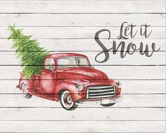 Heres a fun collection of Free Printable Farmhouse Christmas Truck Wall Art that is perfect for the holiday seasonYou will love them displayed in your home Christmas Red Truck, Christmas Signs, Christmas Pictures, Rustic Christmas, Christmas Art, Vintage Christmas, Christmas Decorations, Christmas Ornaments, Christmas Ideas
