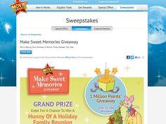 Disney Movie Rewards Make Sweet Memories Giveaway