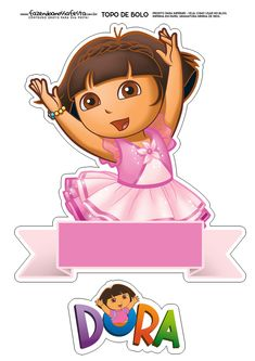 Baby Dora Care Baby Crocodile Dora the Explorer Games Diy Cake Topper, Cake Toppers, Dora Cake, Dora And Friends, Colorful Bedding, Kitchen Designs Photos, Troll Party, Dora The Explorer, Stencil Patterns