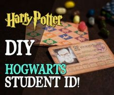 Picture of Hogwarts Student ID