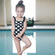 Oh La La Swimsuit from AlbionFit.com! Love their new kids line! So fun and SO cute!
