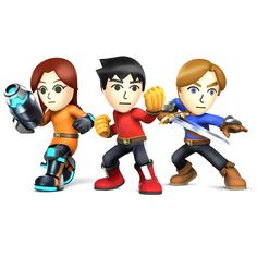 Main page for Super Smash Bros. for Nintendo 3DS / Wii U and Mii Fighter. © 2014 Nintendo Original Game: © Nintendo / HAL Laboratory, Inc. Characters: © Nintendo / HAL Laboratory, Inc. / Pokémon. / Creatures Inc. / GAME FREAK inc. / SHIGESATO ITOI / APE inc. / INTELLIGENT SYSTEMS / SEGA / CAPCOM CO., LTD. / BANDAI NAMCO Games Inc. / MONOLITHSOFT