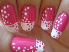 cute pink nails 2013 Pink Nail Designs for Women