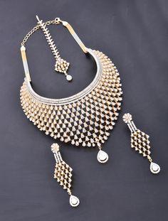 Heavy Choker Style Necklace Set