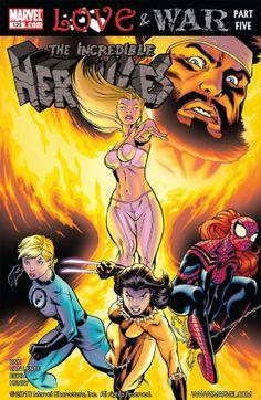 Hercules Marvel Comics | Incredible Hercules #125