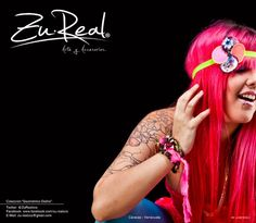Neon headband  Jardín Gestalt  #Hair #Headband #Neon