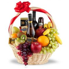 124f58ce7747 The Premium Selection Fruit Wine Gift Basket. Our premium basket is  delivered brim-full with delightfully fresh fruit