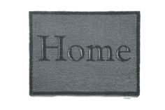 High quality 'Home' design #mat, perfect to put anywhere in your home. High absorbing abilities and antislip backing. #entrancemat  Made in West Yorkshire, UK  http://www.madecloser.co.uk/home-garden/homeware-and-furniture/home-accessories/home-design-mat