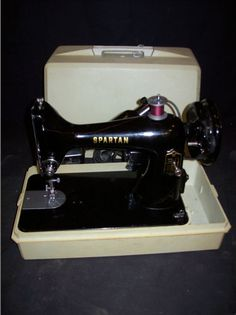Vintage Spartan Singer Sewing Machine - Lisa says: Just added one of these to my collection.....It sews like a champ!