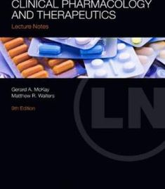 Lecture Notes: Clinical Pharmacology And Therapeutics (9th Edition) PDF