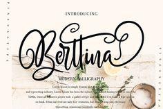 Berttina by Pineungtype on @creativemarket